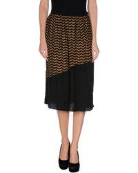 Jucca 34 Length Skirt - Lyst