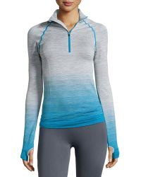 Yummie By Heather Thomson - Lindsay Ombre Half-zip Jacket - Lyst