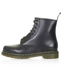 Topshop Dr Martens 8-eye Boots - Lyst