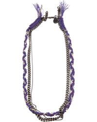 Venessa Arizaga - Mixed Chain Necklace - Lyst