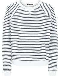 Rag & Bone Glenna Striped Sweatshirt - Lyst