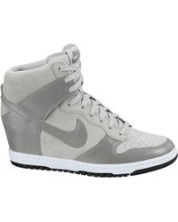 Nike - Dunk Sky Hi Canyon Grey - Lyst