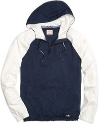Brooks Brothers - Color-block Sleeve Hooded Pullover - Lyst
