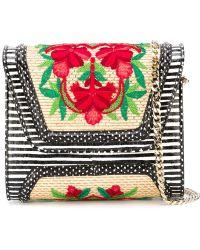 Yliana Yepez - Embroidered Mini 'giovanna' Handbag - Lyst
