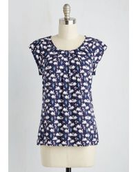 Sunny Girl Pty Lltd - Steal The Show Top In Swans - Lyst