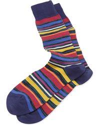 Paul Smith U Twist Stripe Socks - Lyst