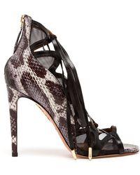 Aquazzura French Lover Sandals - Lyst
