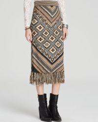 Free People Skirt - Magic Carpet Ride Fringe - Lyst