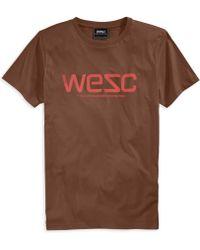 Wesc Solid Logo Tshirt - Lyst