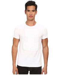 Costume National Embossed T-Shirt - Lyst