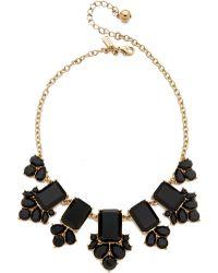 Kate Spade Daylight Jewels Necklace - Black - Lyst
