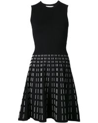 A.L.C. Black White Sleeveless Houston Dress - Lyst