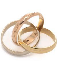 Cartier Les Must De Trinity Ring - Lyst