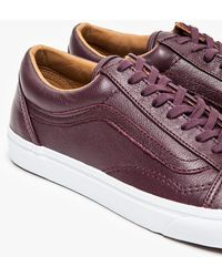 Vans Old Skool Leather Wine Tasting - Lyst