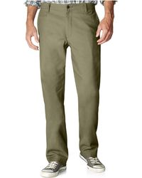 Dockers D2 Straight Fit Off The Clock Flat Front - Lyst