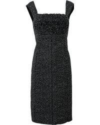 Nina Ricci Ruffle Top Pencil Dress - Lyst