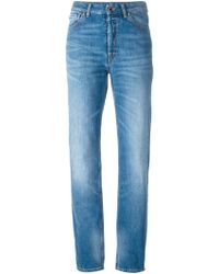 MM6 by Maison Martin Margiela Stone Washed Jeans - Lyst