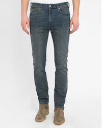 Levi's | Blue 510 Oiled Skinny Jeans | Lyst