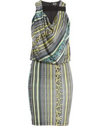 Just Cavalli Printed Jersey Dress - Lyst