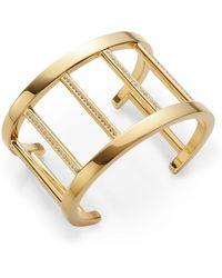Vita Fede Pandora Crystal-Accent Cuff Bracelet/Gold - Lyst