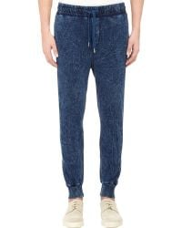 Bliss and Mischief Colby Jogger Pants-Blue Size S