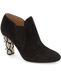 Kay Unger - Leather Chelsea Bootie - Lyst