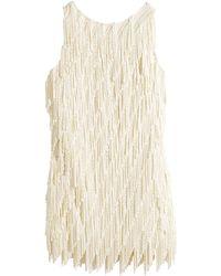 H&M Fringed Dress - Lyst