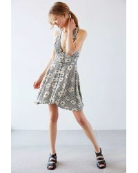 Cooperative - Jacquard Dress In Daisy Print - Lyst