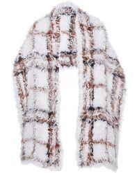 Sonia Rykiel Knitted Kalgan Scarf - Lyst