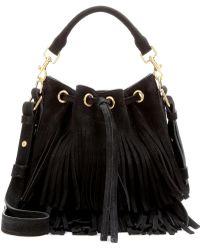 yves st laurent purses - Saint Laurent Emmanuelle | Shop Emmanuelle Bucket Bag on Lyst.com