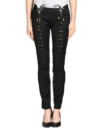 DSquared2 Black Casual Pants - Lyst