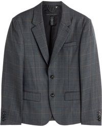 Marc By Marc Jacobs Wool Blend Check Blazer - Lyst