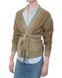 Citizens of Humanity Kylar Jacket khaki - Lyst