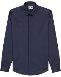 Reiss Comet Concealed Placket Shirt - Lyst