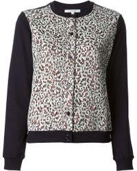 Carven | Lace Button Through Sweatshirt | Lyst