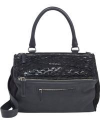 Givenchy Fish-skin Medium Pandora Messenger - Lyst