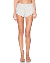 Eberjey White Nicolette Shorts - Lyst