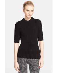 Michael Kors Chunky Knit Sweater black - Lyst