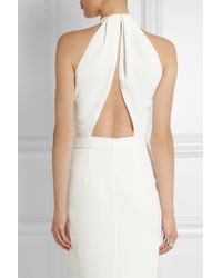 Dion Lee Openback Texturedcrepe Midi Dress