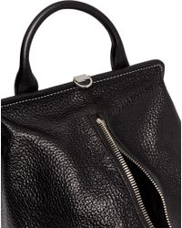 Alexander Wang - Opanca Fold-up Boxy Leather Satchel - Lyst