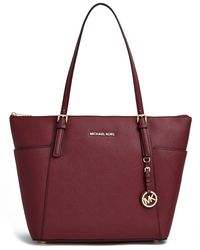 MICHAEL Michael Kors Jet Set East West Zip Tote - Lyst