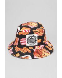 abe4950cfcbf91 Urban Outfitters. Milkcrate Athletics - Fried Chicken Bucket Hat - Lyst
