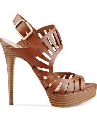 Guess Kabirra Platform Sandals - Lyst