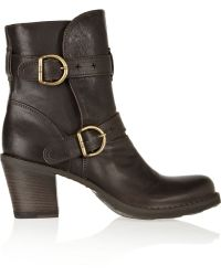Fiorentini + Baker Nena Leather Boots - Lyst