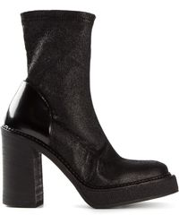 Premiata Chunky Heel Boots - Lyst
