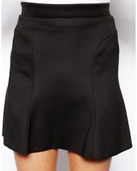 Tfnc Tess Mini Skirt - Lyst