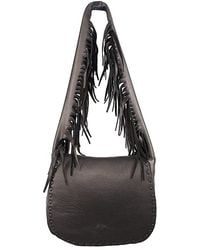 Jennifer Haley - Fringe Strap Shoulder Bag - Lyst