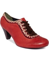 Poetic Licence   Whiplash Lace Up Shooties   Lyst