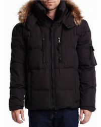 S13/nyc - Tundra Faux Fur-trimmed Parka - Lyst