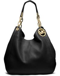 MICHAEL Michael Kors Fulton Leather Large Tote Bag - Lyst